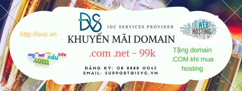 khuyến mãi domain