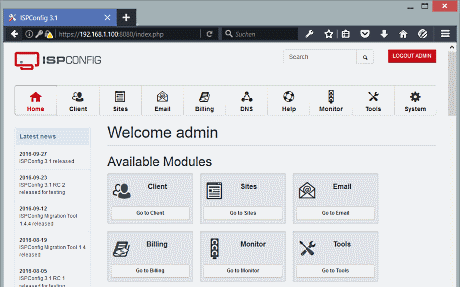 opensource control panel ispconfig 3 cloudzone.vn